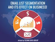 Email Data Segmentation Services Data Segmentation in USA