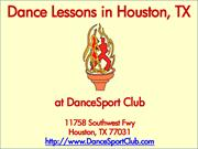 Dance Lessons in Houston TX