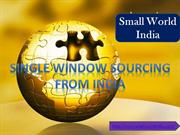 Product sourcing Agency | Buying Agents in India | Small World India
