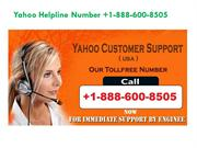 Yahoo Customer Care Number +1-888-600-8505 Toll Free