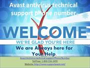 Avast antivirus technical support phone number 1-800-556-3499 USA