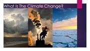 What Is The Climate Change