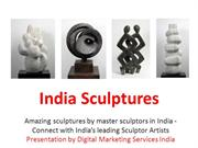 Sculptures by Famous Indian Artists