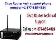 Cisco Router tech support phone number USA +1-877-885-4824