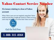 Fix issues associated with recovery of Yahoo account
