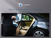 How to Search and Book a Good Taxi Service Onlineppt