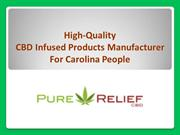High-quality CBD Infused Products Provider For Carolina People