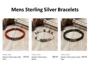Mens Sterling Silver Bracelets Are The Right Accessories For A Trendy