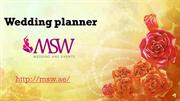 Msw wedding planner Dubai