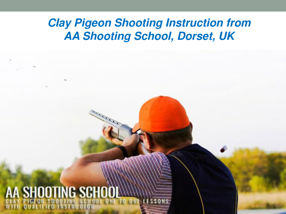 Clay Pigeon Shooting Instruction From Aa Shooting School Dorset
