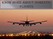 Find Affordable Cheap Domestic Flight Tickets