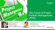 The future of PPM - [Project Portfolio Management]