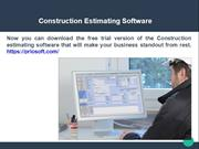 Construction Contractor Software