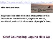 Grief Counseling Laguna Hills CA