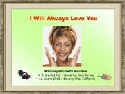 Whitney Houston - I Will Always Love You (Adastra)