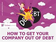 How to get your company out of debt