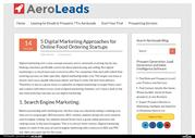 5 Digital Marketing Approaches for Online Food Ordering Startups