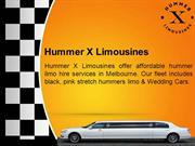 Luxurious Limousine Hire Melbourne at Hummer X Limousines