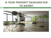 Is Your Property Damaged Due To Water?