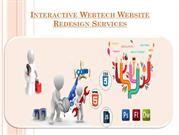 website redesign services in india and website maintenance packages