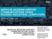 Improve-Modern-Airport-Communication-Using-Rugged-Industrial-Computers