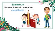 Sponser free Child Education in India