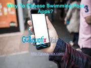 Why to choose swimming pool app