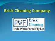 Brick Cleaning Company ppt