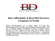 Hire Affordable & Best SEO Services Company in Noida