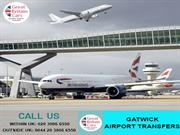 Airport taxi- best way to reach Gatwick Airport Taxi