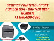 Brother Printer Support Number USA +1 888-600-6920 Contact Help