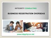 Business Registration Overseas - Integrity Consulting