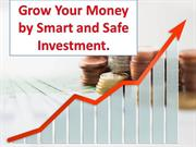 Grow your money by smart and safe investment