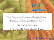 Online Food Ordering and Delivery Script, PHP Restaurant Scripts