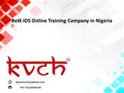 Best iOS Online Training Company in Lagos, Nigeria