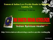 Indian Psychic reader in London, UK