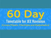60 Day JEE Revision Timetable