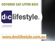 Covered Cat Litter Box- dnclifestyle.com.au