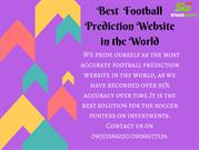 Best Football Prediction Website in the World