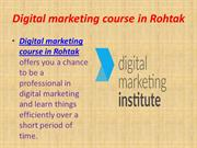 Digital marketing course in Rohtak