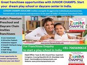 Play school franchise in India | Preschool franchise in India withJU