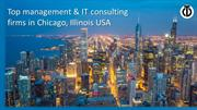 Top management & IT consulting firms in Chicago, Illinois USA