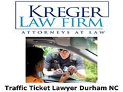 Traffic Ticket Lawyer Durham NC