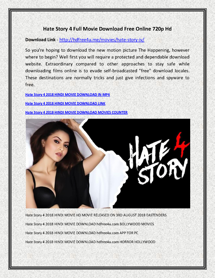 hate story 4 full movie download free online 720p hd |authorstream