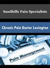 Chronic Pain Doctor Lexington