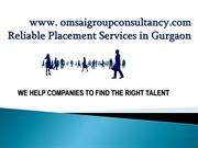 Reliable Placement Services in Gurgaon