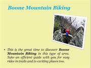 Boone Mountain Biking
