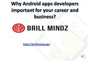 Android apps development company Muscat