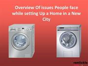 Overview Of issues People face while setting Up a Home in a New City