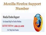 Mozilla Firefox Support Number 1-888-121-6490